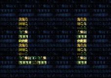 τοίχος γραφείων αλφάβητο Στοκ Εικόνα