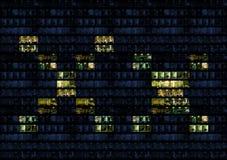 τοίχος γραφείων αλφάβητο στοκ εικόνα με δικαίωμα ελεύθερης χρήσης