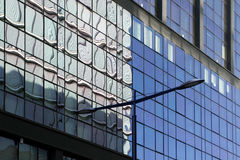 τοίχος γυαλιού Στοκ εικόνα με δικαίωμα ελεύθερης χρήσης