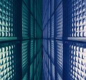 τοίχος γυαλιού Στοκ φωτογραφίες με δικαίωμα ελεύθερης χρήσης