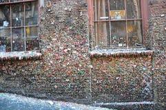 Τοίχος γόμμας - Σιάτλ, Ουάσιγκτον Στοκ Εικόνες