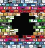 τοίχος εικόνων ελεύθερη απεικόνιση δικαιώματος