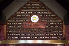 Τοίχος εργοστασίων Warsteiner στοκ εικόνες