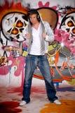 τοίχος εφήβων κασκών γκράφ Στοκ εικόνα με δικαίωμα ελεύθερης χρήσης