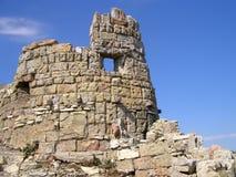 τοίχος κάστρων στοκ φωτογραφίες