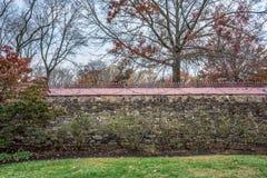 τοίχος κήπων στοκ εικόνα με δικαίωμα ελεύθερης χρήσης