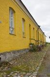 τοίχος κίτρινος Στοκ Φωτογραφία