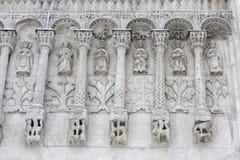 τοίχος καθεδρικών ναών στοκ εικόνες