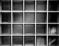 τοίχος καθρεφτών Στοκ Φωτογραφία