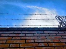 Τοίχος καλωδίων Στοκ εικόνα με δικαίωμα ελεύθερης χρήσης