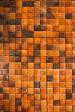 τοίχος κεραμιδιών Στοκ φωτογραφία με δικαίωμα ελεύθερης χρήσης