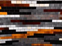 Τοίχος κεραμικών κεραμιδιών στοκ εικόνα με δικαίωμα ελεύθερης χρήσης