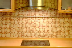 Τοίχος κουζινών Στοκ εικόνες με δικαίωμα ελεύθερης χρήσης