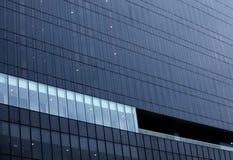 Τοίχος κτιρίου γραφείων στοκ εικόνες