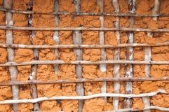 τοίχος λάσπης σπιτιών Στοκ εικόνα με δικαίωμα ελεύθερης χρήσης