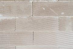Τοίχος με την άσπρη σύσταση τούβλων Στοκ εικόνες με δικαίωμα ελεύθερης χρήσης