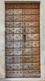Τοίχος με την πόρτα Στοκ Φωτογραφίες