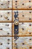 Τοίχος με την πόρτα Στοκ εικόνες με δικαίωμα ελεύθερης χρήσης