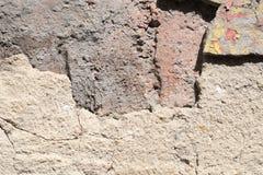 Τοίχος με τη σύσταση υποβάθρου ασβεστοκονιάματος στοκ φωτογραφία με δικαίωμα ελεύθερης χρήσης