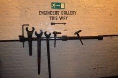 Τοίχος μηχανικών Στοκ Εικόνες