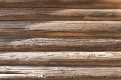 Τοίχος μιας ξύλινης καλύβας στοκ φωτογραφία με δικαίωμα ελεύθερης χρήσης