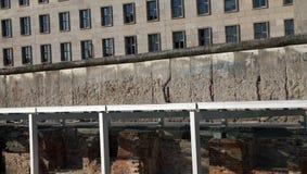 τοίχος μνημείων του Βερ&omicron Στοκ Εικόνα