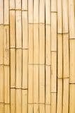 τοίχος μπαμπού Στοκ Εικόνα