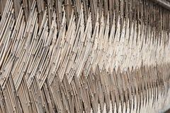 τοίχος μπαμπού Στοκ Φωτογραφίες