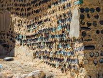 Τοίχος μπουκαλιών Στοκ εικόνα με δικαίωμα ελεύθερης χρήσης
