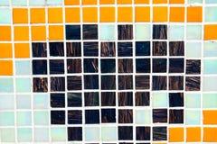 Τοίχος μωσαϊκών Στοκ εικόνα με δικαίωμα ελεύθερης χρήσης