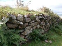 τοίχος ξηρών πετρών στοκ εικόνες με δικαίωμα ελεύθερης χρήσης