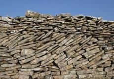 τοίχος ξηρών πετρών στοκ εικόνες
