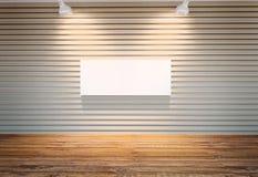 Τοίχος ξύλινα slats Στοκ Φωτογραφία