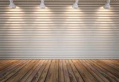 Τοίχος ξύλινα slats Στοκ φωτογραφίες με δικαίωμα ελεύθερης χρήσης