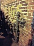Τοίχος οργής στοκ φωτογραφία