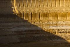 Τοίχος ορυχείου κοιλωμάτων Στοκ Εικόνες