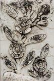 Τοίχος λουλουδιών Στοκ εικόνες με δικαίωμα ελεύθερης χρήσης