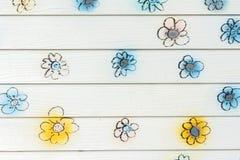 Τοίχος λουλουδιών Στοκ Εικόνες
