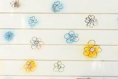 Τοίχος λουλουδιών Στοκ Φωτογραφίες