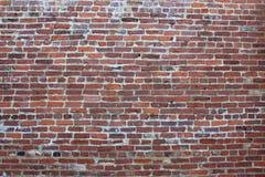Τοίχος παλαιών τούβλινου και του κονιάματος Στοκ Εικόνες