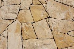 τοίχος πετρών ανασκόπησης Στοκ Εικόνα