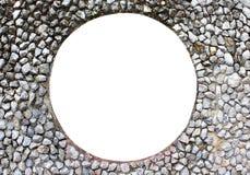 Τοίχος πετρών ανιχνευτών όψης. Στοκ Φωτογραφίες