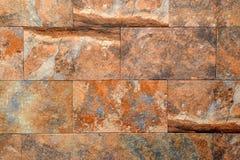 Τοίχος πετρών αποκοπών Στοκ Φωτογραφίες