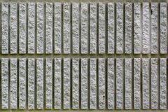 Τοίχος πετρών γραμμών Στοκ εικόνες με δικαίωμα ελεύθερης χρήσης