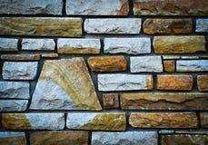 Τοίχος πετρών λεπτομέρειας Στοκ φωτογραφία με δικαίωμα ελεύθερης χρήσης