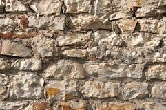 τοίχος πετρών μορφής Στοκ φωτογραφίες με δικαίωμα ελεύθερης χρήσης