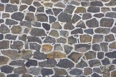 τοίχος πετρών πλακών ανασ&kappa Στοκ εικόνες με δικαίωμα ελεύθερης χρήσης