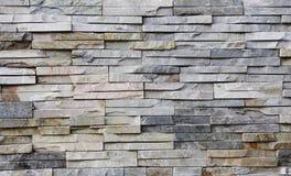 τοίχος πετρών πλακών Στοκ εικόνα με δικαίωμα ελεύθερης χρήσης
