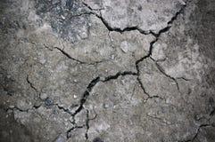 τοίχος πετρών ρωγμών στοκ εικόνα