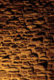 τοίχος πετρών σκιών Στοκ Φωτογραφίες